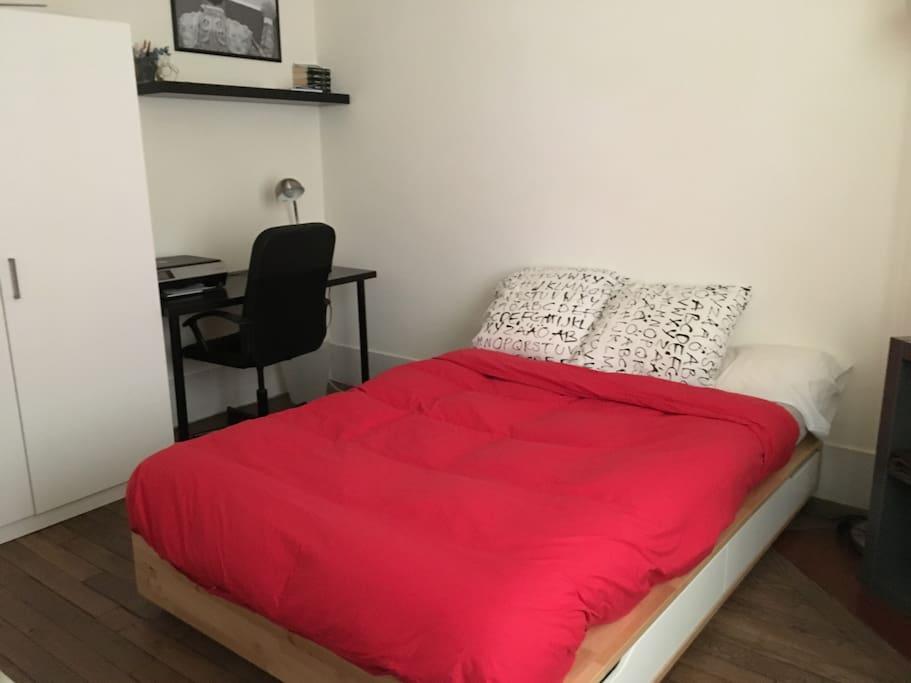 chambre de mon futur locataire :)