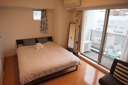 C3 The Center of Shinjuku Queen size bed with wifi - 新宿 - 公寓