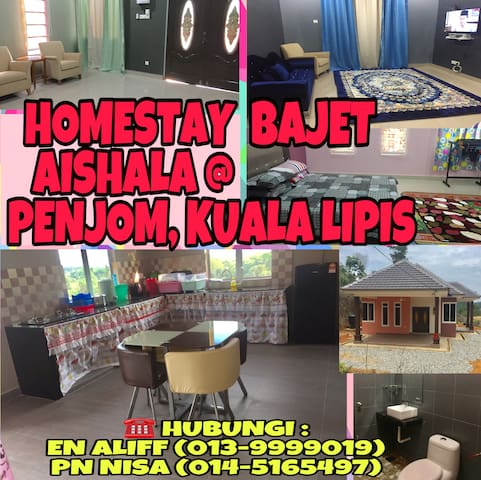 Homestay Bajet Aishala for Muslim Only
