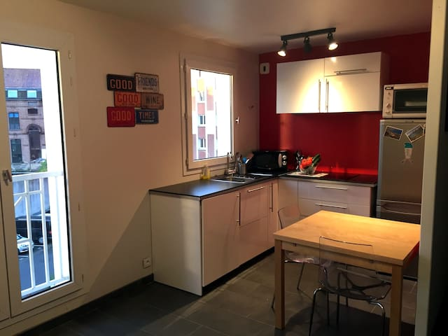 Nice flat in a great location in Lille