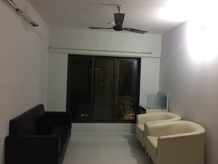 A Sunny furnished 2BHK in prime location of juhu