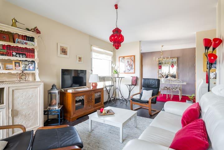 Bel appartement à 10 mn du métro - Oullins - Appartement