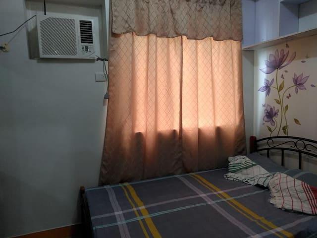 Sunny Unit furnished with washing machine
