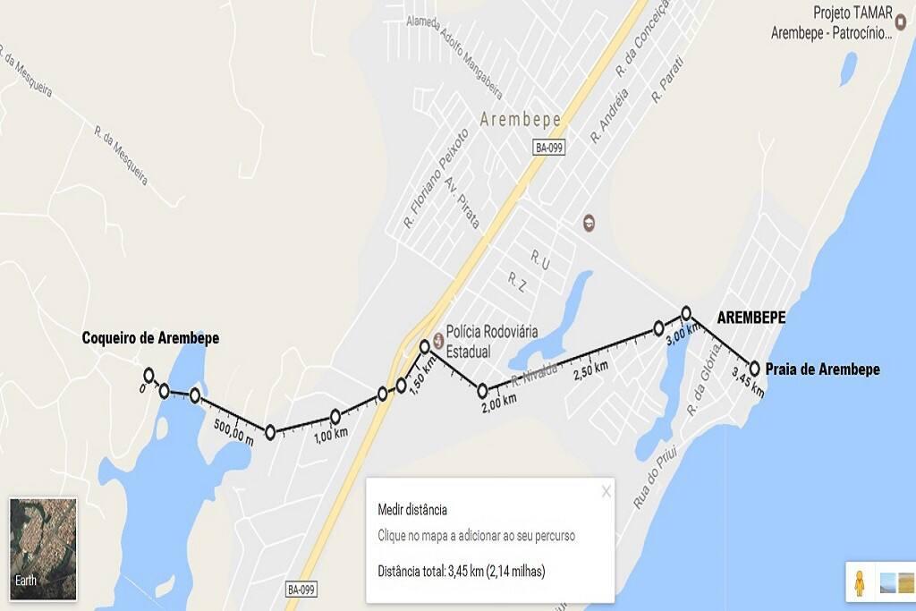 Nature Retreat Bela Natureza; how to reach and walking distance to Arembepe & beautiful beach.
