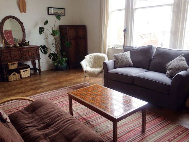 Close to University, Characterful, spacious flat - Exeter - Flat