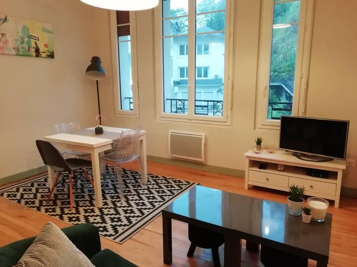 Appartement T3 tout confort rue de la grotte