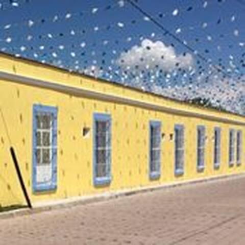 Nuestra fachada típica casa de pueblo