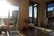 Living room / balcony