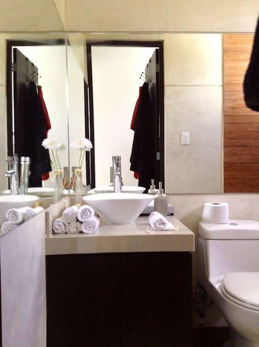 Amplio lavabo