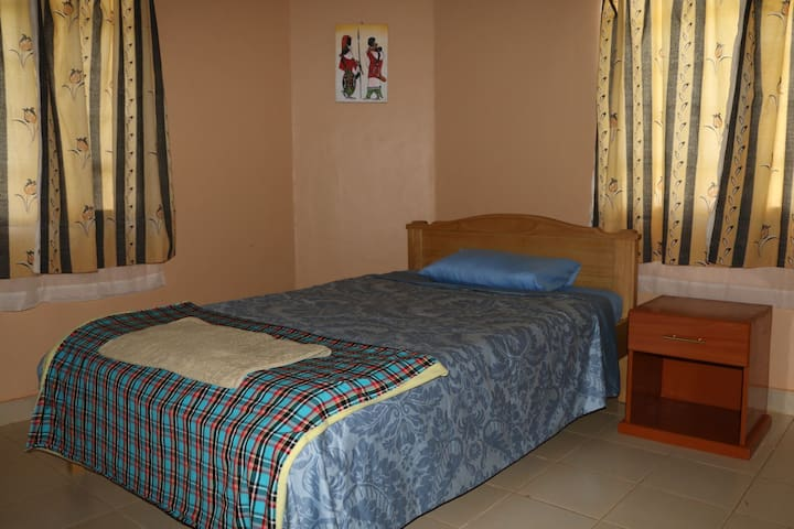 Spacious en-suite rooms ideal for extended stays!
