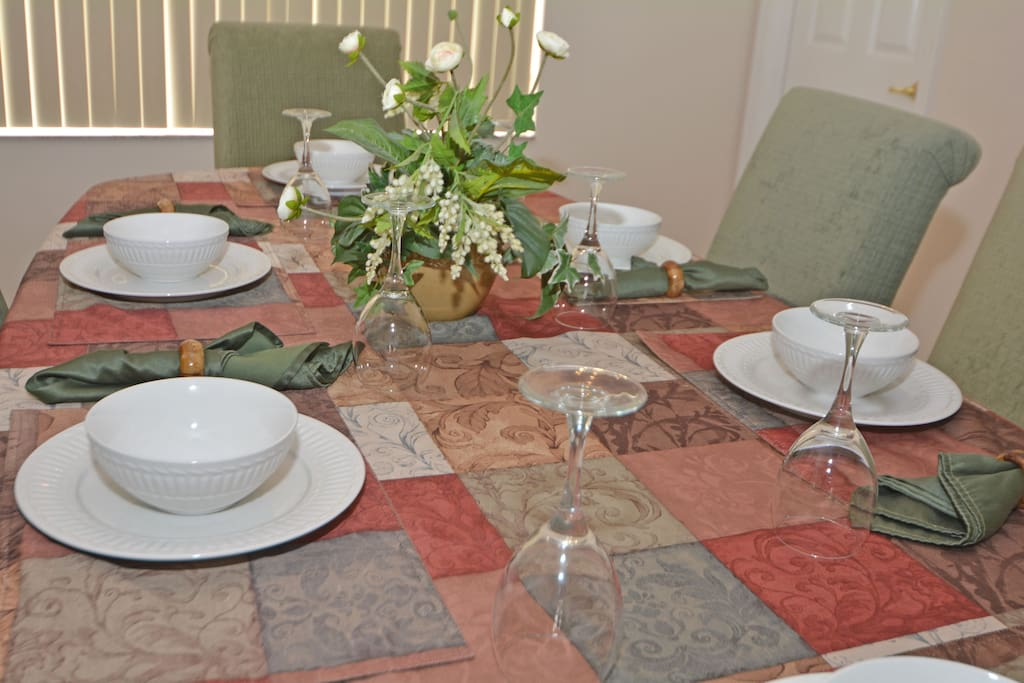 Glass, Dining Table, Furniture, Table, Flower Arrangement