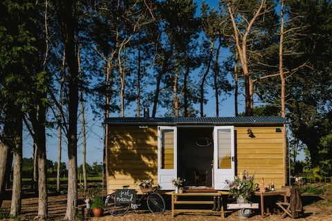 Godwick Shepherds Hut - The Ryeland Retreat