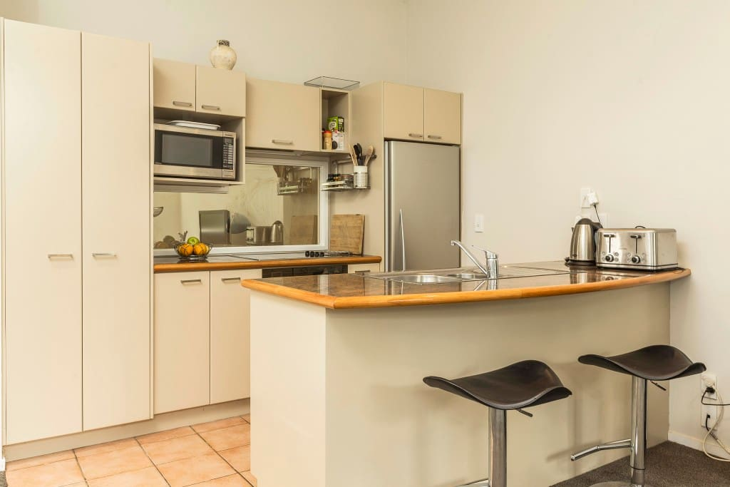 Well equipped food-lovers kitchen