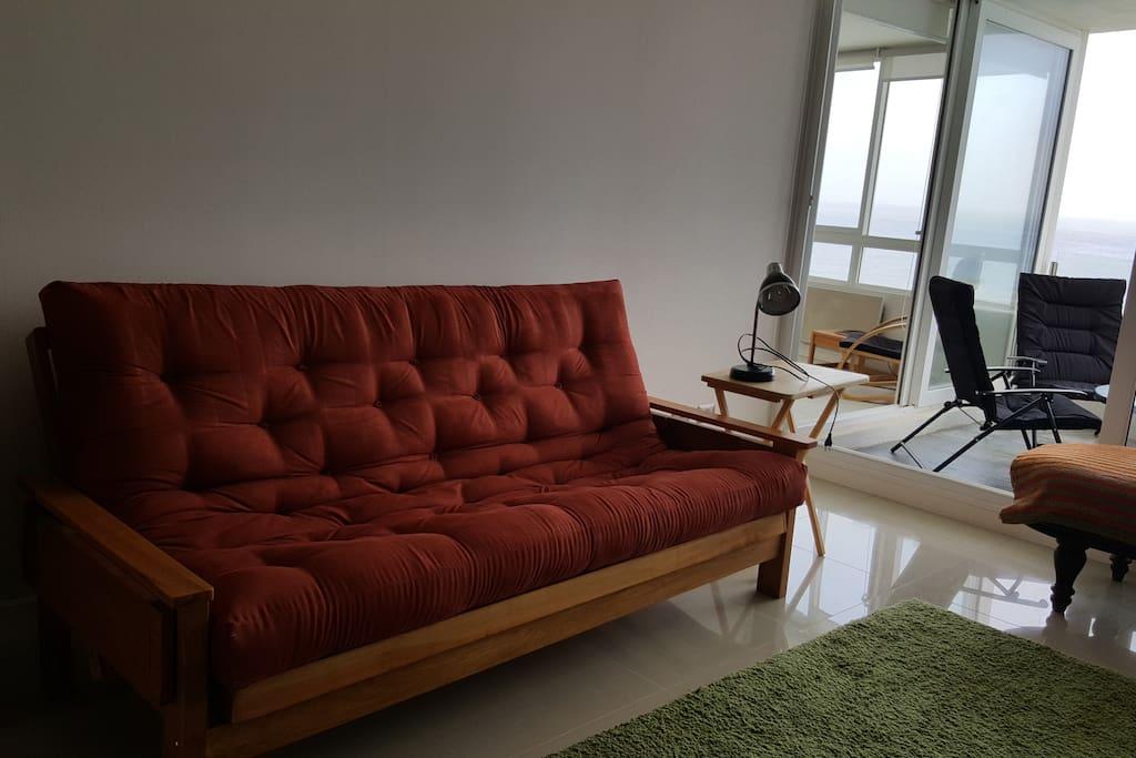 sofa cama matrimonial living
