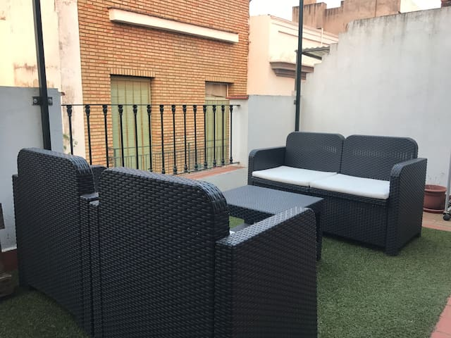 Great apartment with terrace in the center of City