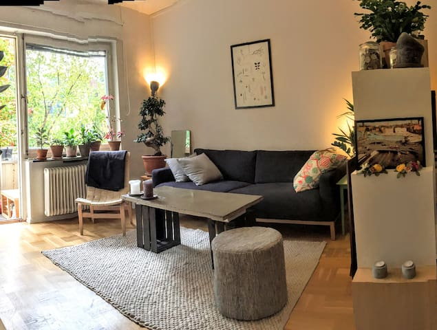 Cosy 2-room apt. in calm and trendy area