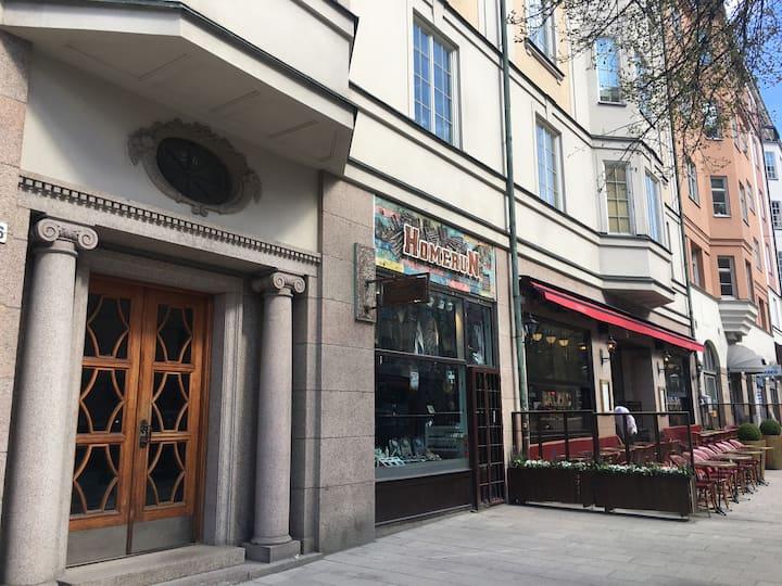 Sekelskiftesvåning 170kv i Vasastan, Stockholm