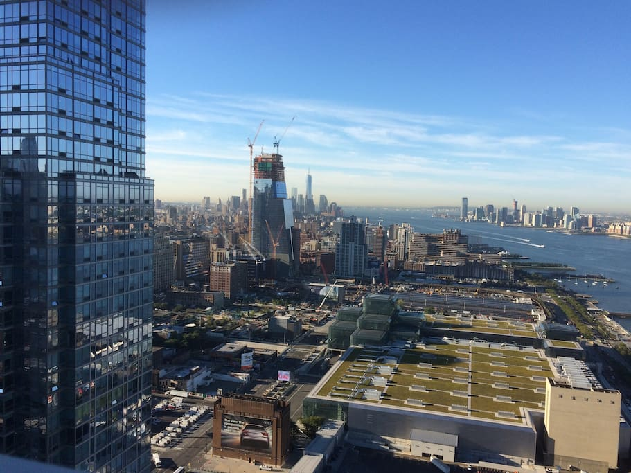 Downtown + WTC from Skylounge