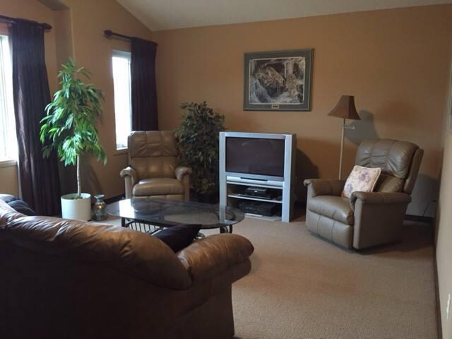 1-2 LG bedrooms, spacious TV room, 5 piece bath!
