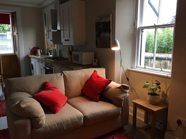 Cosy and comfy sofa.