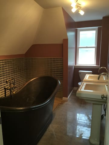 VICTORIAN ATTIC FULL ROOM CLOSE TO NYC - Newark - Appartement