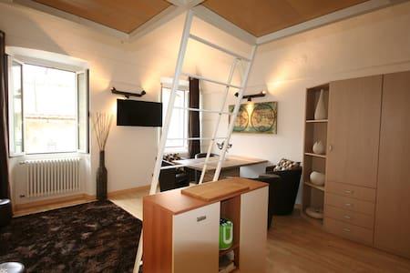 Luxury Studio with WiFi in Bordighera Old Town - Apartment
