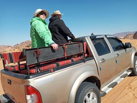 Wadi rum desert camp..trip..