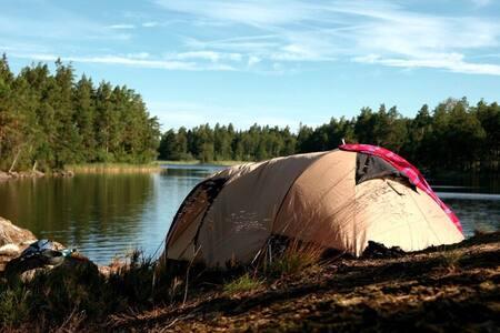 Zelten in Lapland - Jokkmokk - Stan