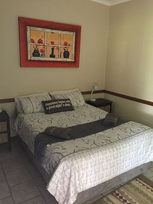 Double bed overnight room