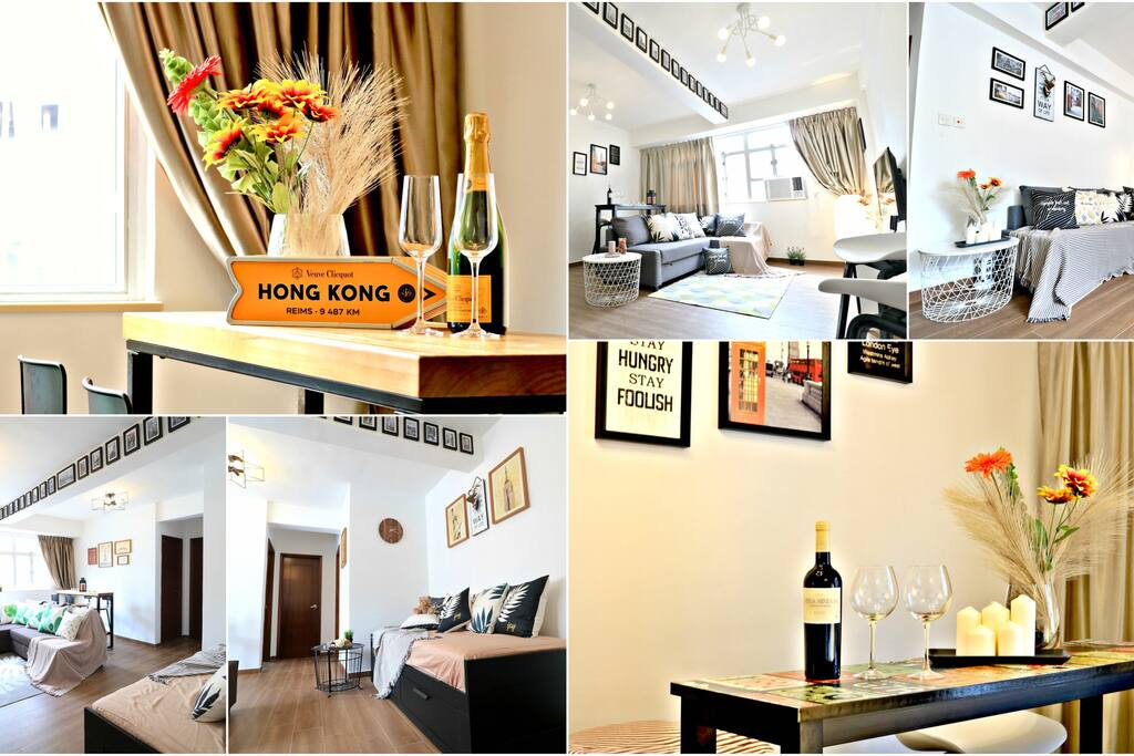 In the heart of Tsim Sha Tsui, two apartments on Entire Floor for Large Groups 20+ PAX!  變更房源 預覽房源