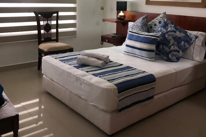 Luxury room with sea view in Cartagena