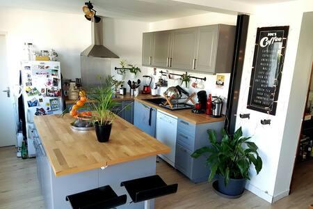 Maison 110m2 lumineuse avec jardin - Albi