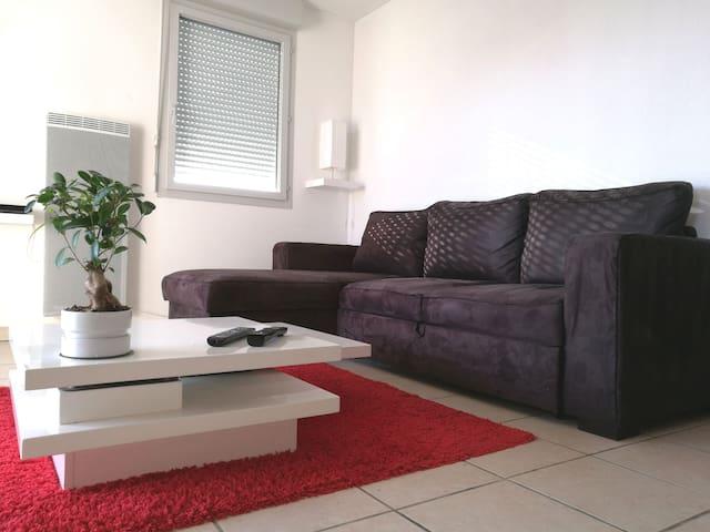 Chambre privée quartier 2 Lions - Tours - Apartamento