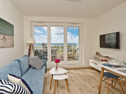 Seaview apartament by Puck bay A19