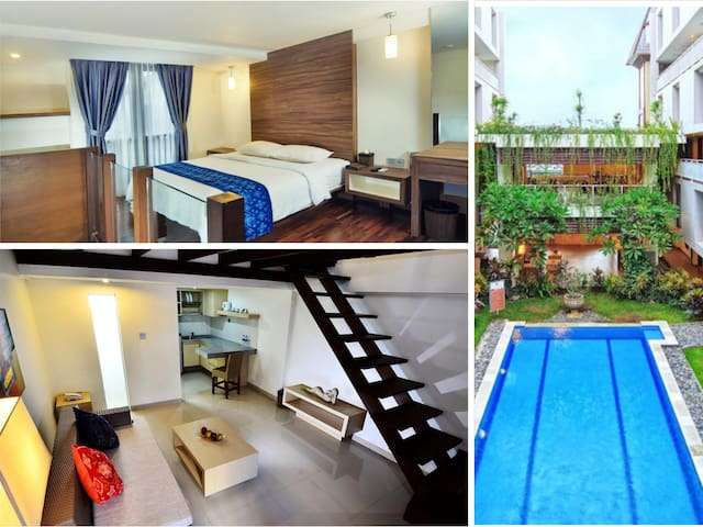 Perfect Location! Lovely room in Legian