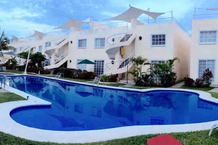 ACOGEDOR DEPA MUY CERCA DE LA PLAYA - Acapulco - Apartmen