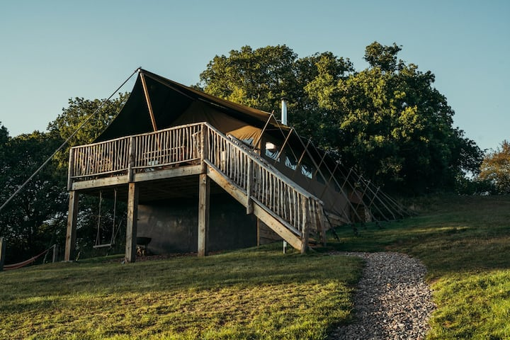 Exe Valley Glamping - 'OTTERS HOLT'