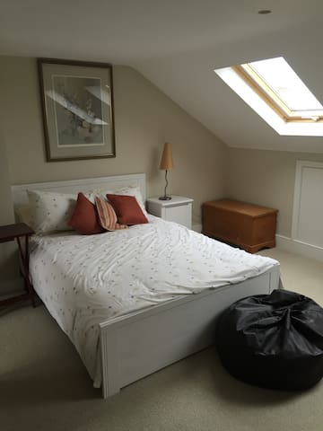 Large loft room in quiet house