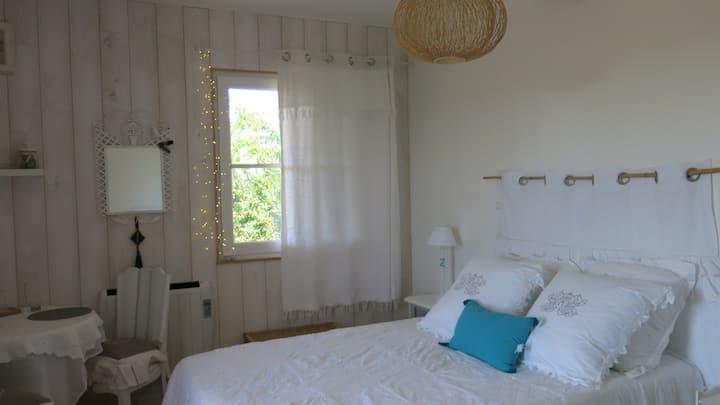 Chambre cosy au calme avec vue imprenable