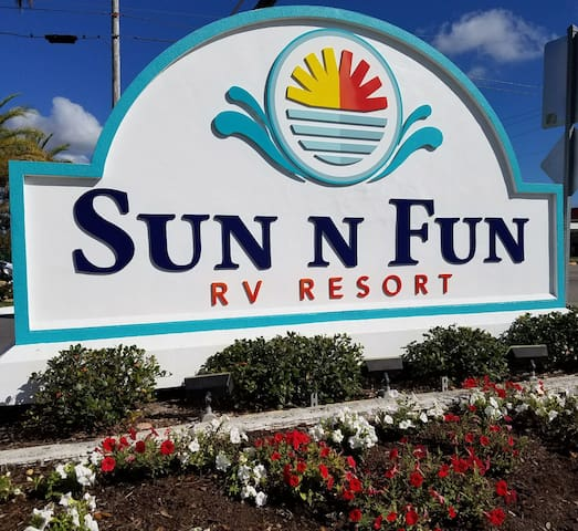 This is the sign to mark the entrance of your FUN vacation destination!!!
