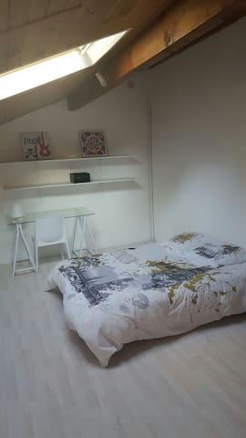2 Agréables chambres - Mont-de-Marsan - Huis