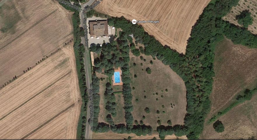 Apartment in Rural House with Pool - Perugia - Pis