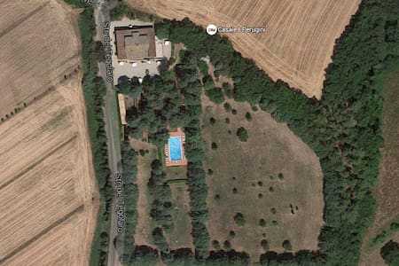 Apartment in Rural House with Pool - Perugia