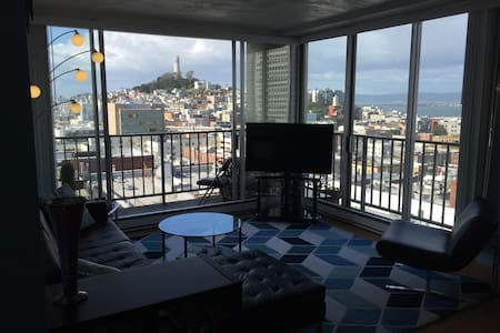 Hip Chinatown pad with epic postcard views!