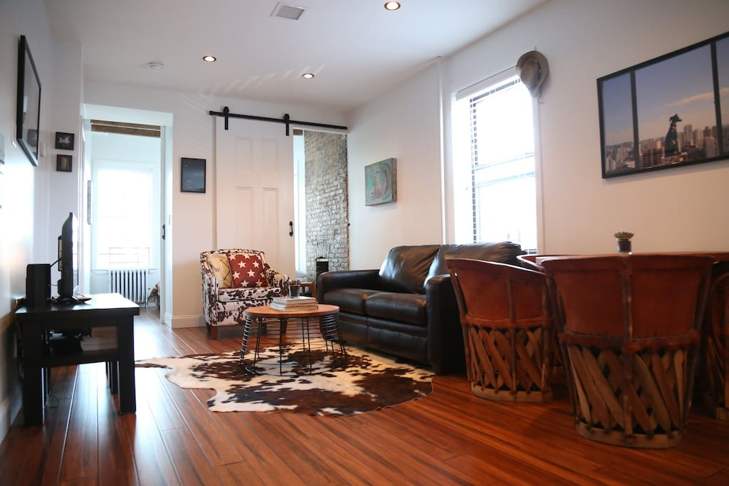 Classic four bedroom loft maisons de ville louer - Bel appartement de ville brooklyn new york ...