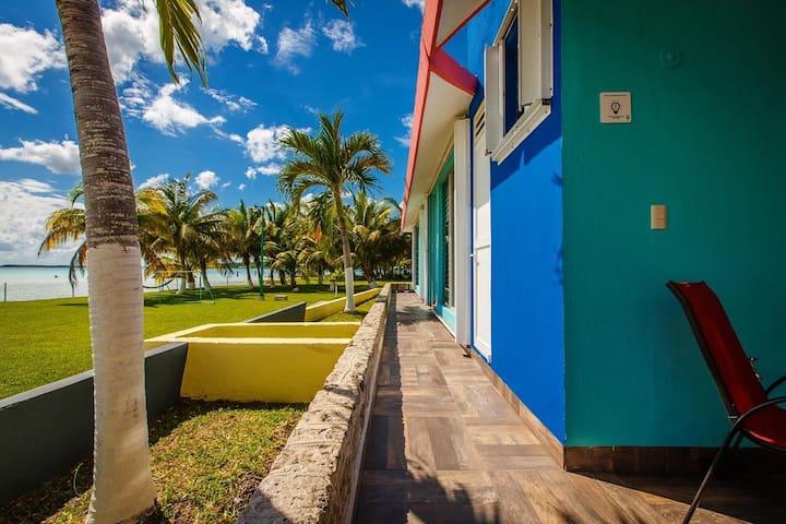 Paraiso 7 MARES, Bacalar.  Quintana Roo
