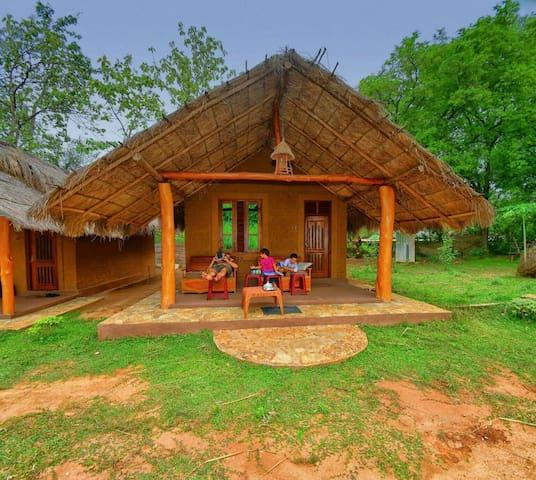 Hasthi family cottage.