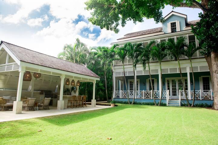 Tropical Colonial Villa