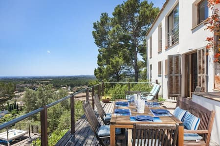 Villa with pool & views by Palma Valldemosa Soller - Sa Font Seca - Xalet