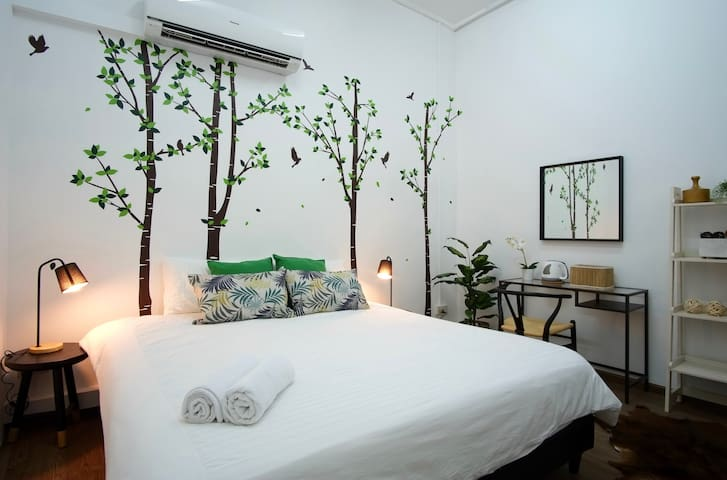 Charming Trees Room · Heritage Zone 5mins to MRT